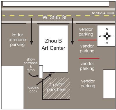 zhou b parking map