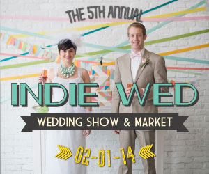 5th Annual Winter Indie Wed event in Chicago, 2014